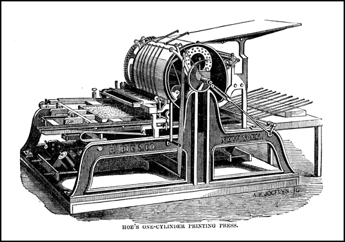 hoes_one_cylinder_printing_press