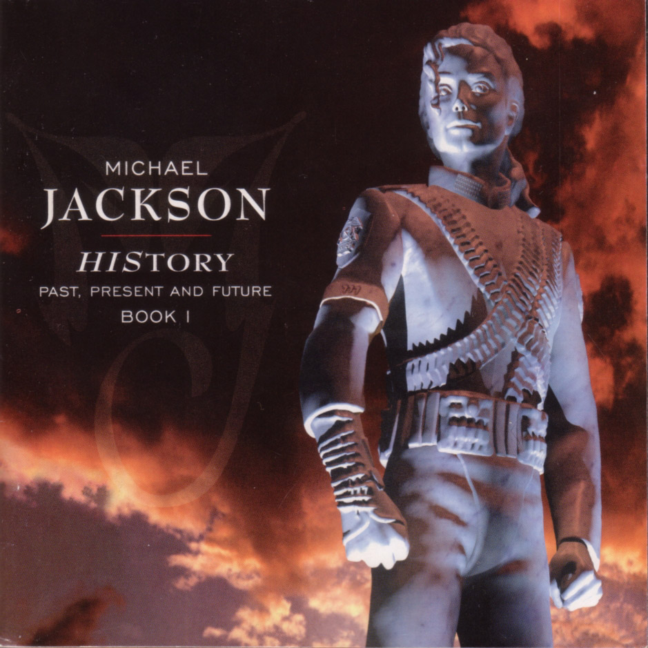 Le double CD Michael_Jackson-History-Frontal