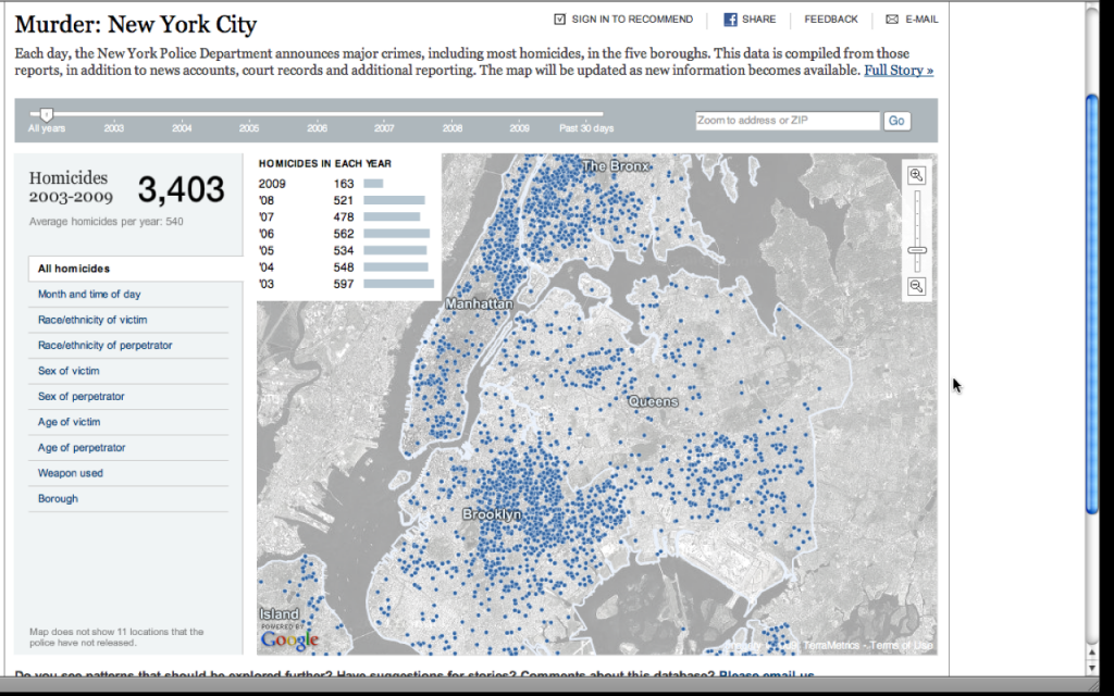 new york interactive murder map popten