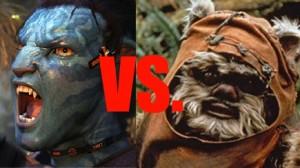 So-hot-it's-blue Na'vi loving or Impossibly Dark Ewok dingleberries? Who will win?